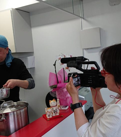 NHKの取材がありました!!!